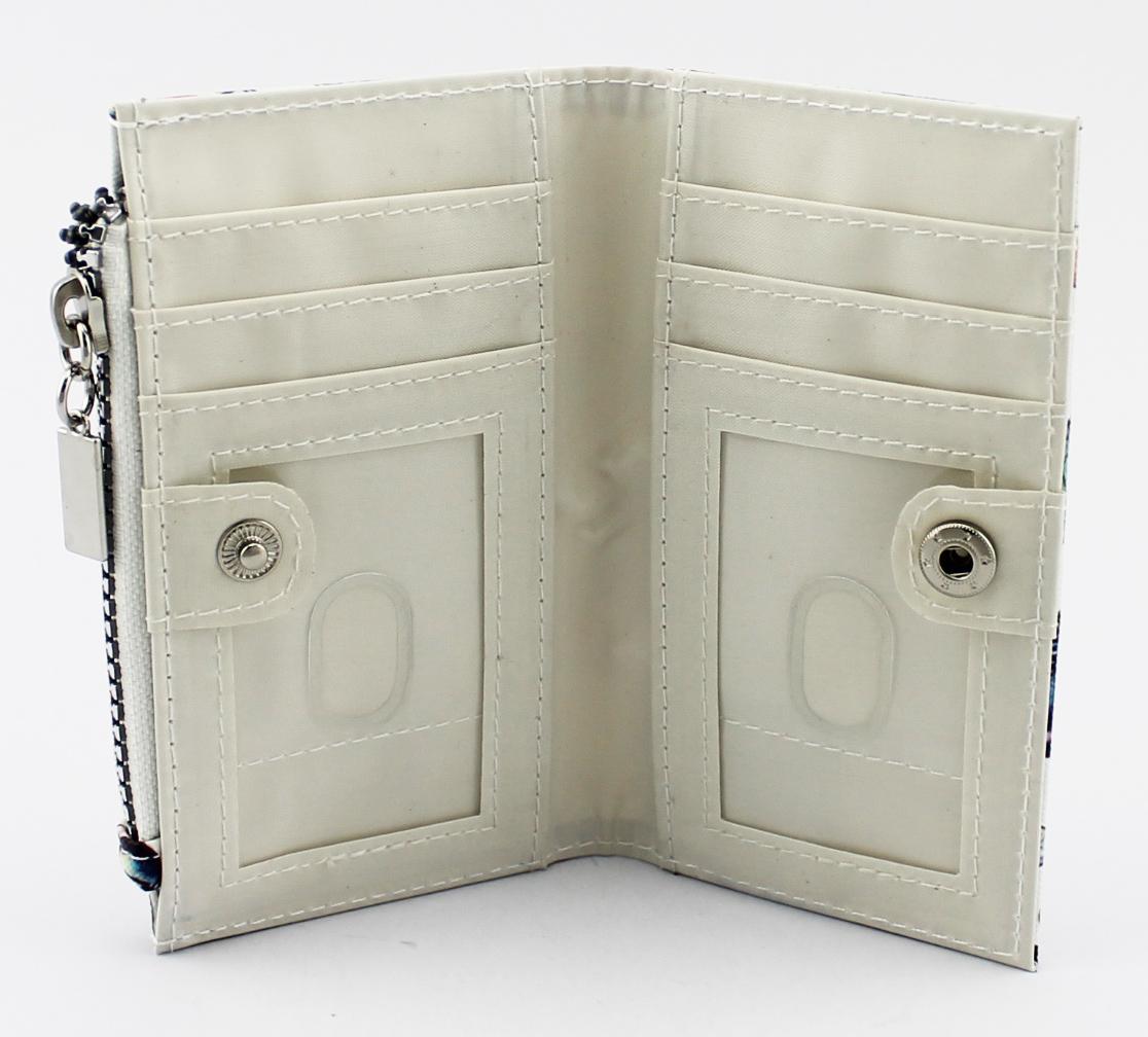 丝印蝴蝶卡片零钱包