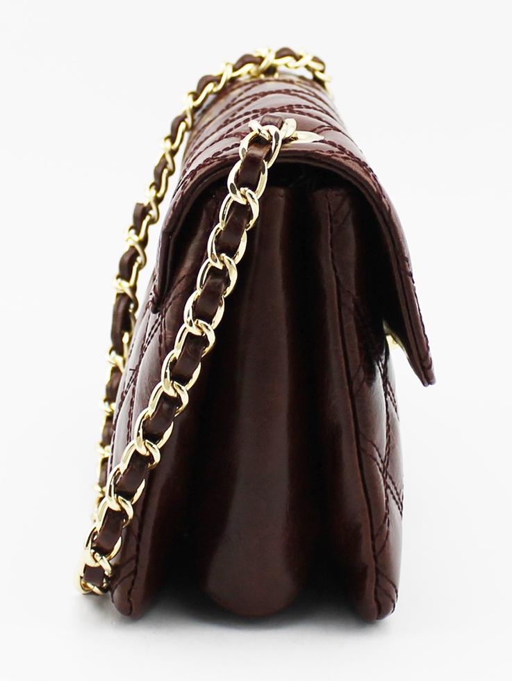间棉真皮女装手袋