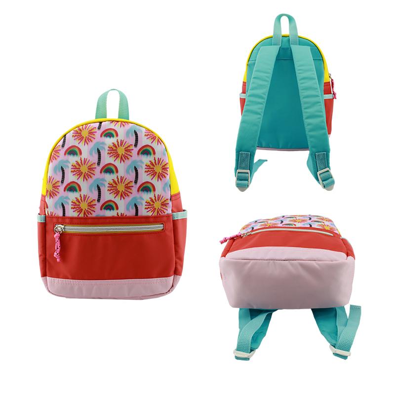 童包 ,背包,彩色尼龙背包
