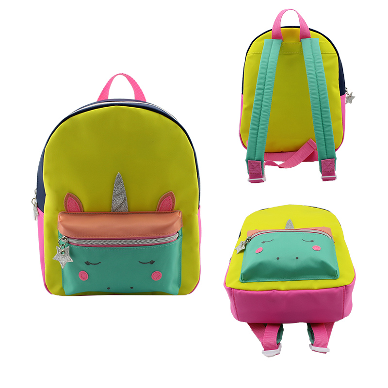 童包,背包,独角兽背包 ,彩色背包