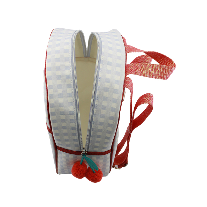 童包,背包,樱桃背包,格子背包