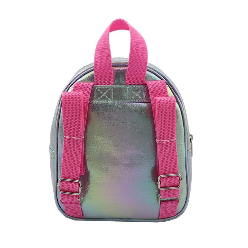童包,儿童双肩背包,幻彩小珠片透明胶袋背包