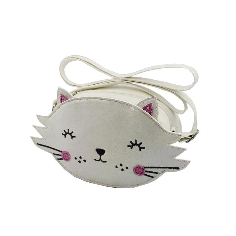 童包,儿童斜跨包,可爱猫咪斜跨包