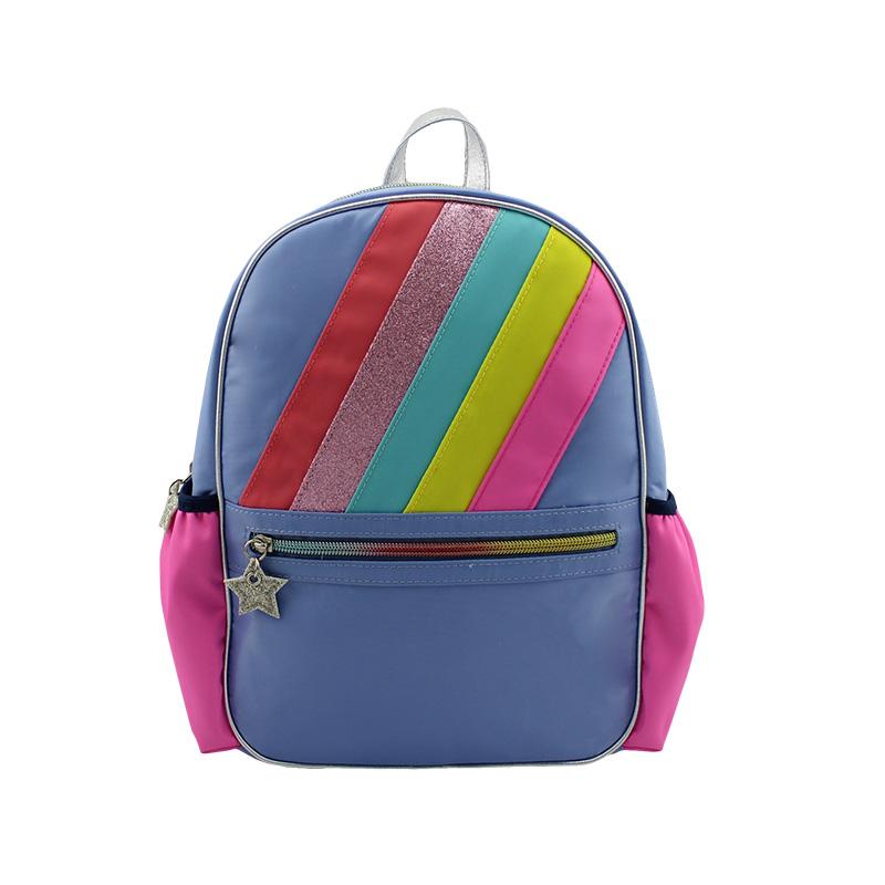 彩虹背包 大童背包 童包