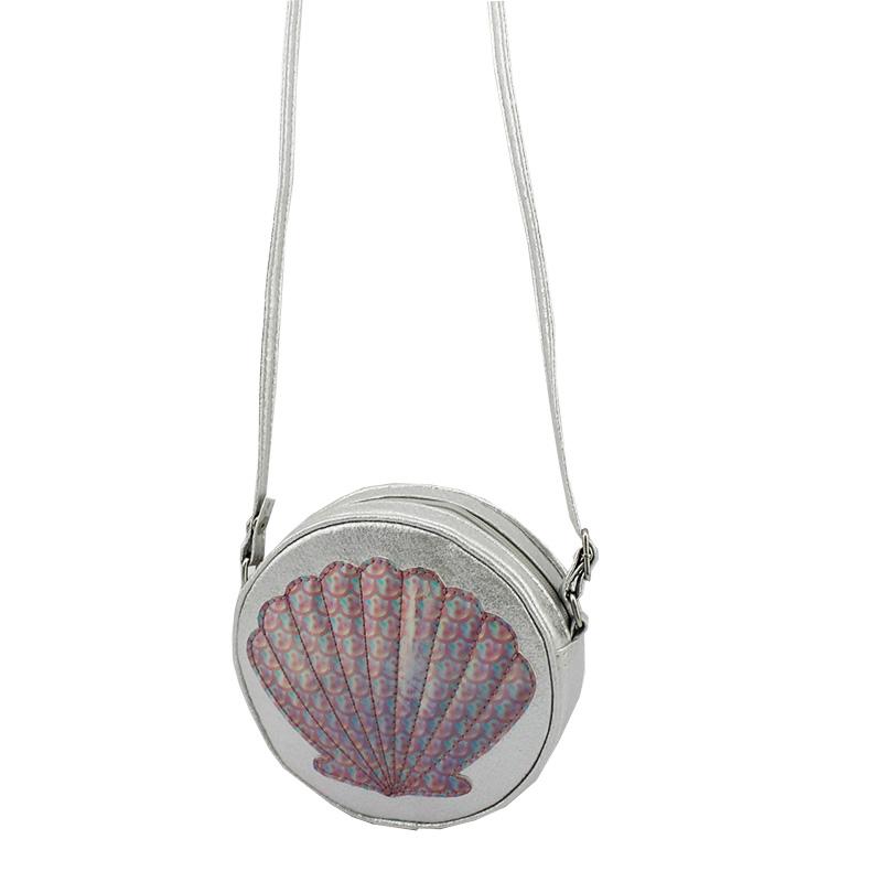 贝壳斜挎包 童包