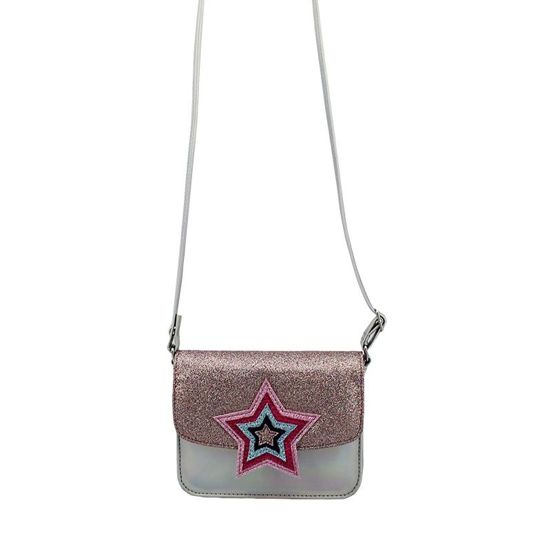 五角星斜挎包 , 童包