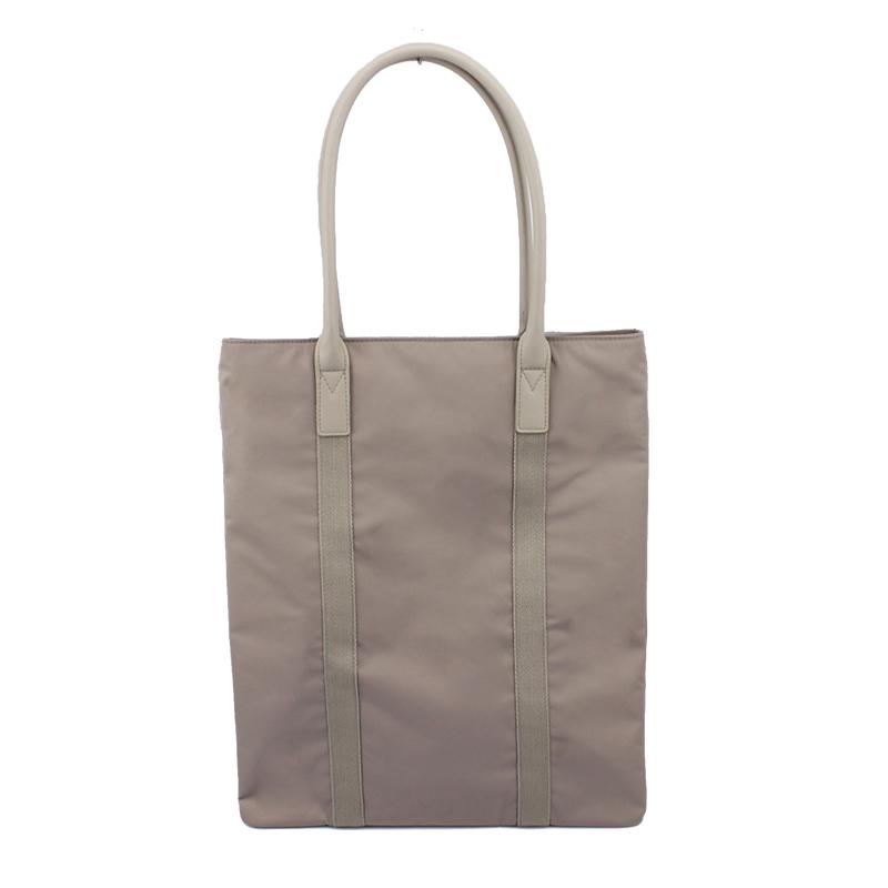 再生尼龙料单肩购物袋
