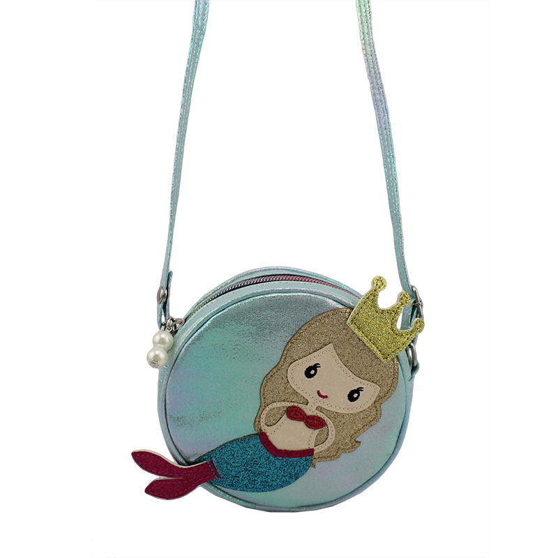 美人鱼小圆包,童包