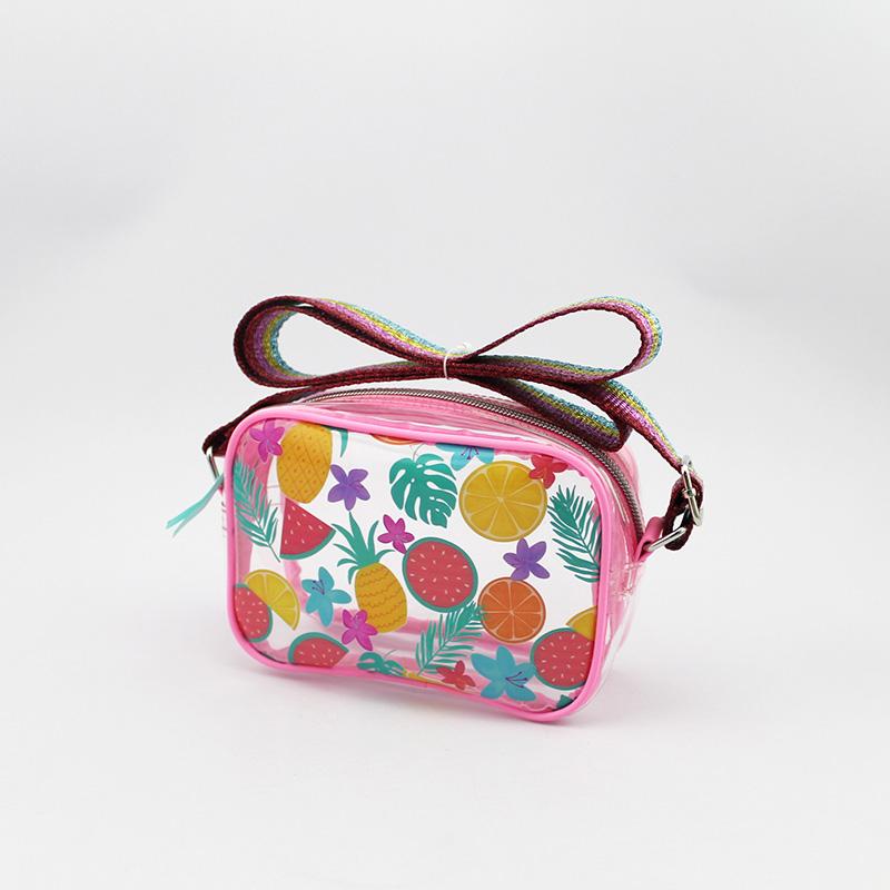 童包 果冻斜挎包 水果图案斜挎包
