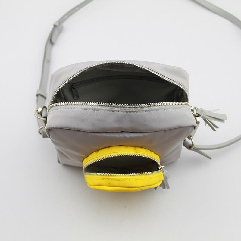 托棉表情相机包 尼龙斜挎包 童包