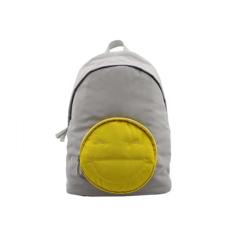 托棉表情背包 童包 尼龙背包
