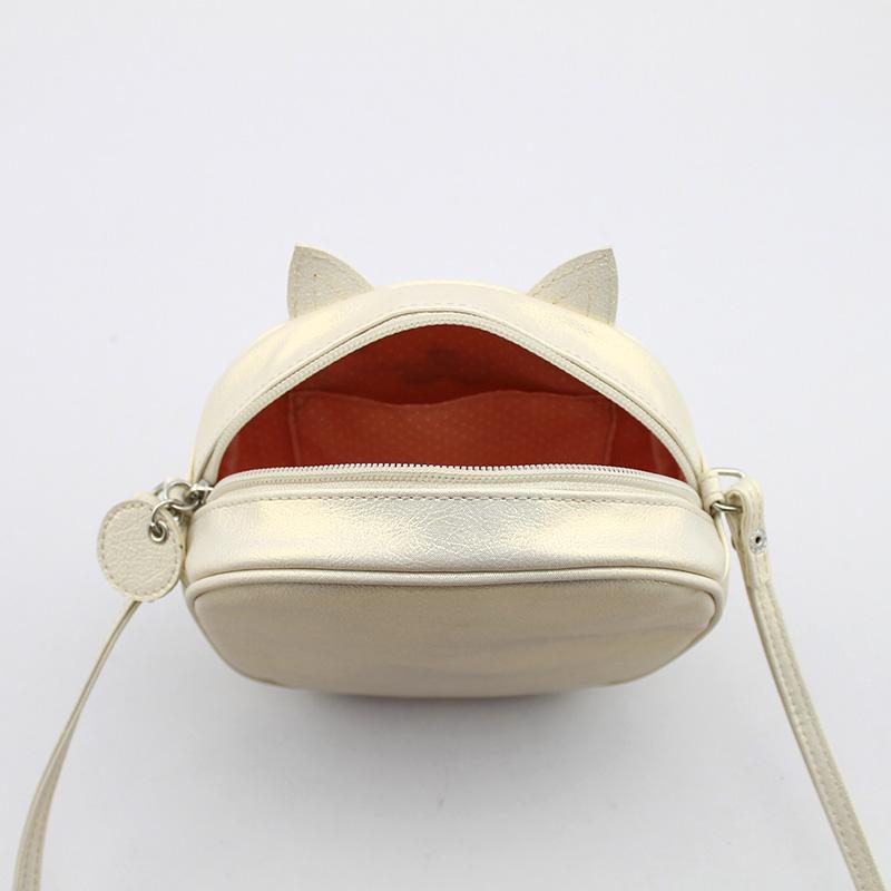 招财猫斜跨包 童包  大童斜挎包