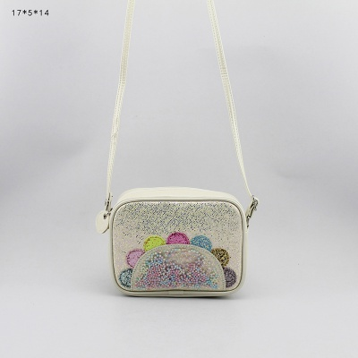花朵斜跨包 童包 儿童斜挎包