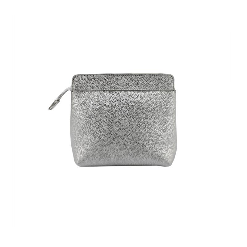 银色化妆包