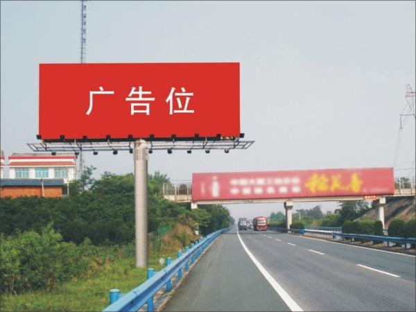 单面立柱广告牌