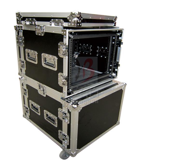 HB-A-02 8U铁架连体减震箱