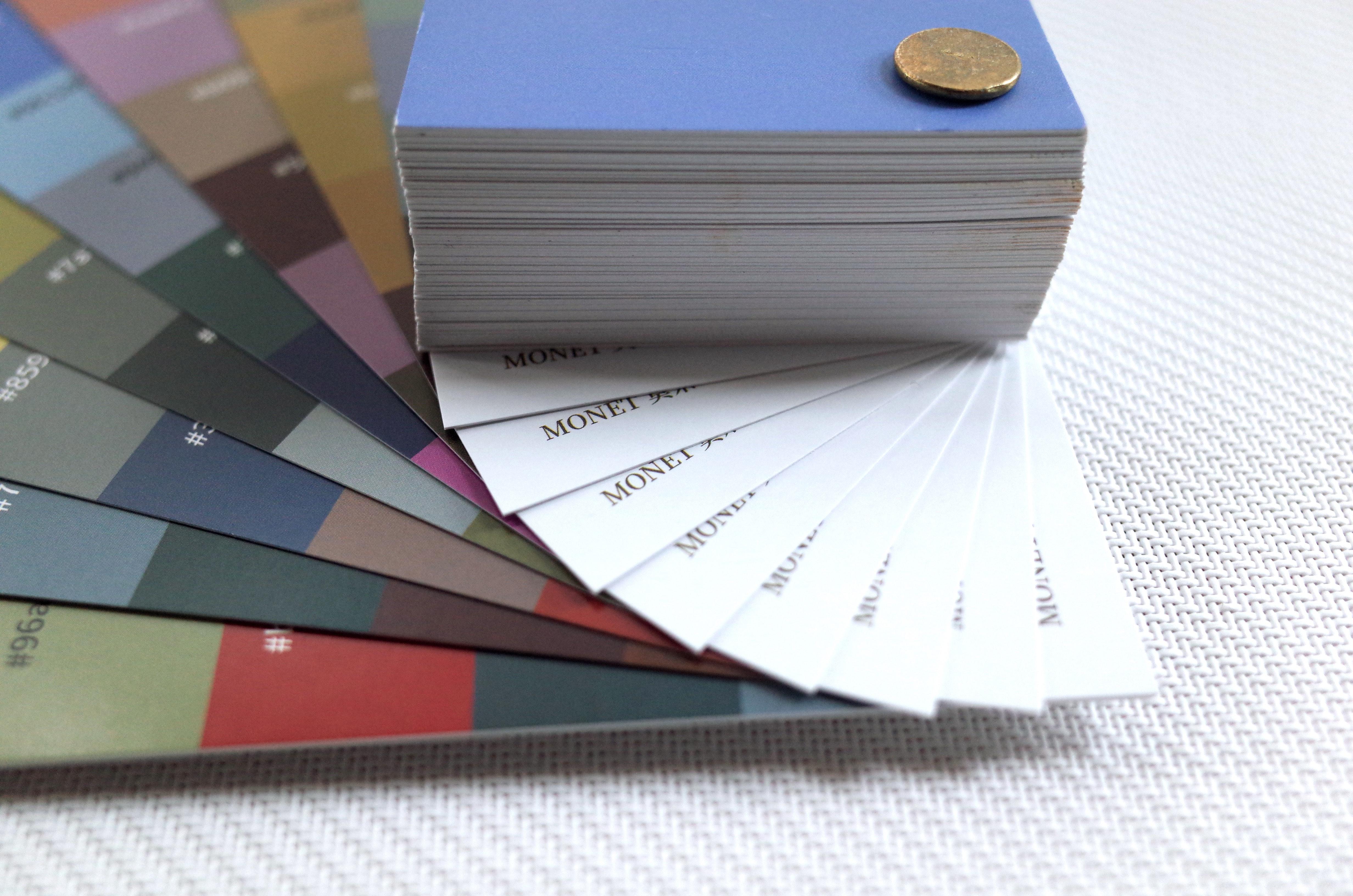 Monet's Color Palettes