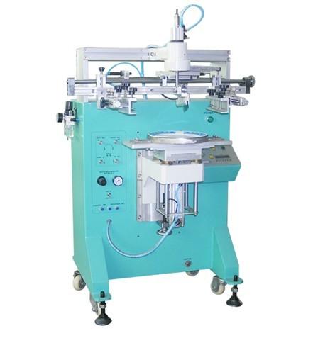 半自动旋转式平面丝印机