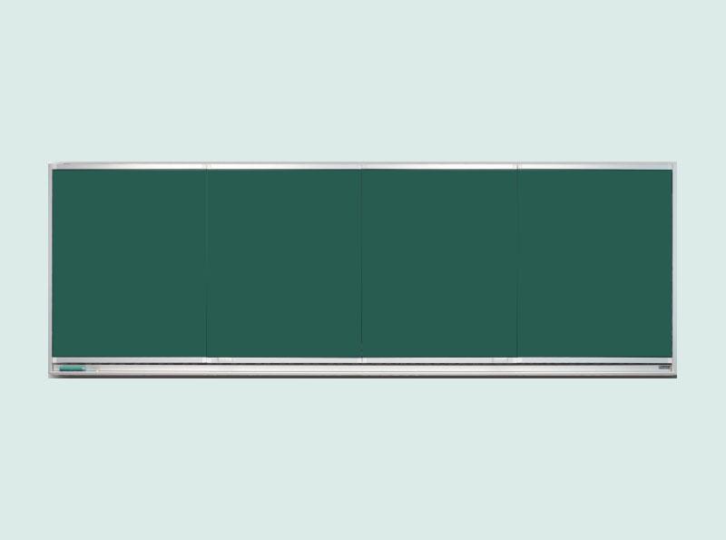 变轨式纯平面推拉书写板