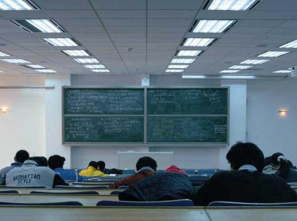 双组升降式书写板