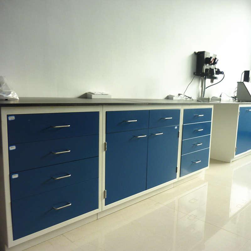 Steel Workstation, Anti-corrosion Laboratory Workbench, School Lab Table