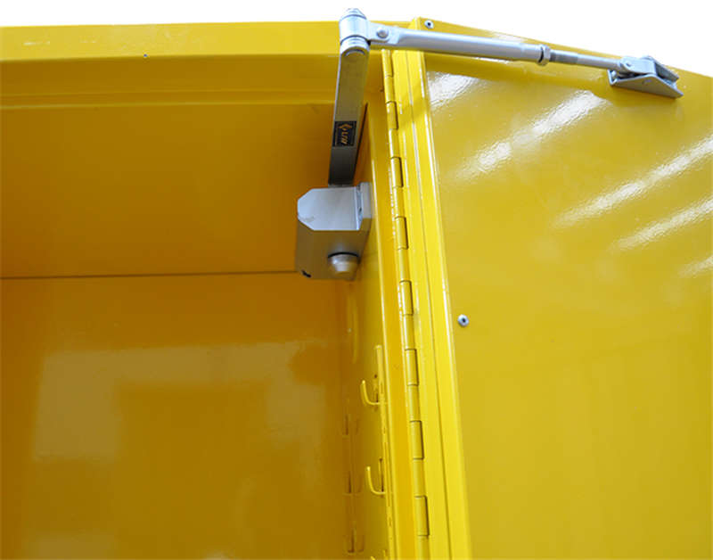 Flammable Safety Cabinet - Yellow Industrial Safety Cabinet