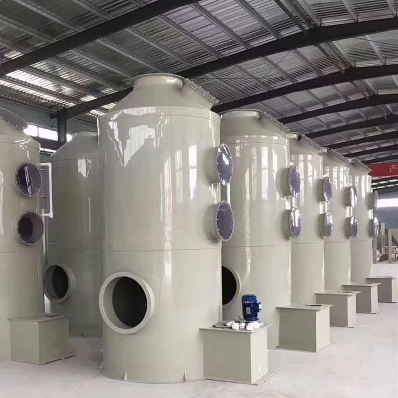 Wet Scrubber Exhaust Gas Treatment Spray Tower
