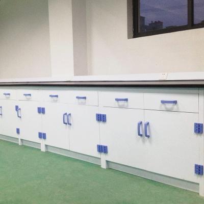 Polypropylene Side Bench, Acid and Alkali Resistant PP Lab Table
