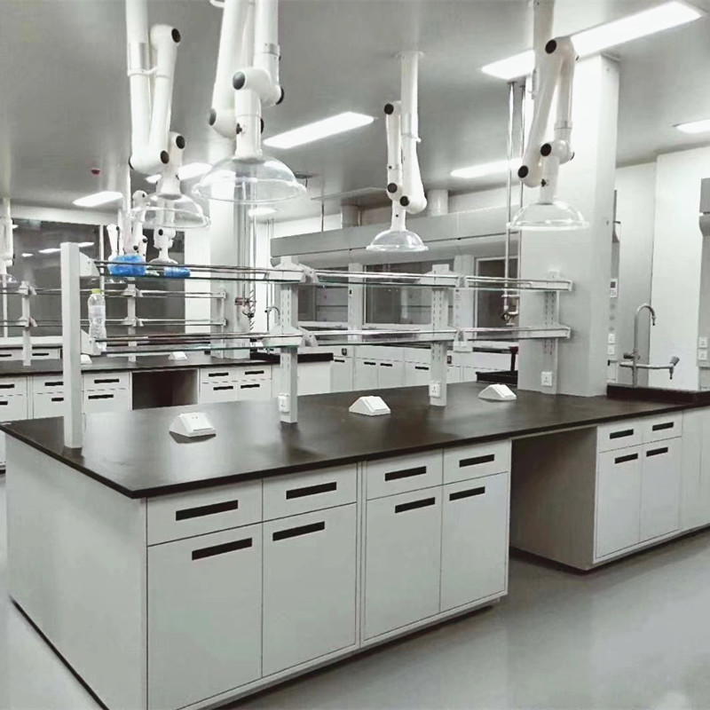 Laboratory Island Bench, Lab Central Table, Anti-corrosion Workbench