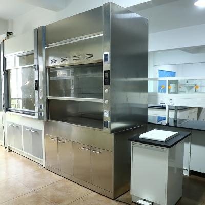 316 Stainless Steel Fume Cupboard Corrosion Resistant Fume Hood