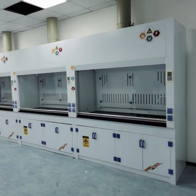 Acid-Base Resistant PP Fume Hood, Acid and alkali Resistant Fume Cupboard