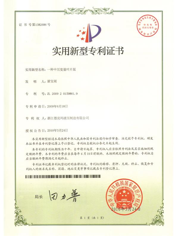 德克瑪資質證書27