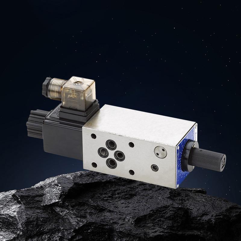 MFST系列叠加式电磁流量阀(压力补偿型) FSC系列电磁流量阀(压力补偿型)