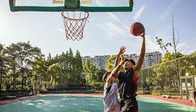 华南分公司举办首届员工篮球比赛