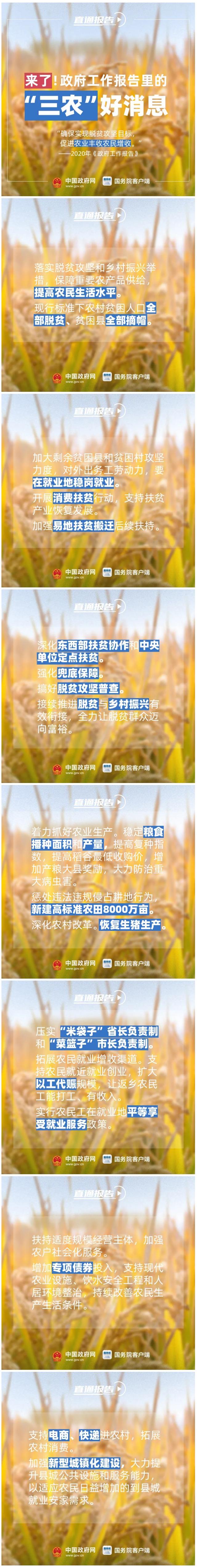 農民朋友的好消息!2020年有這些惠農政策