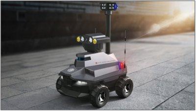 安防巡逻机器人