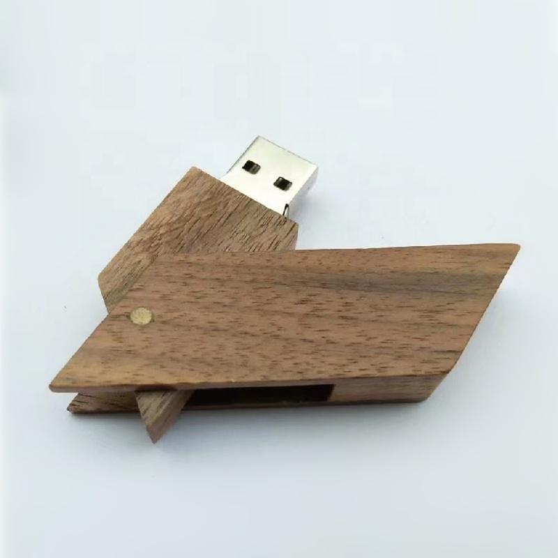rhombus wooden usb