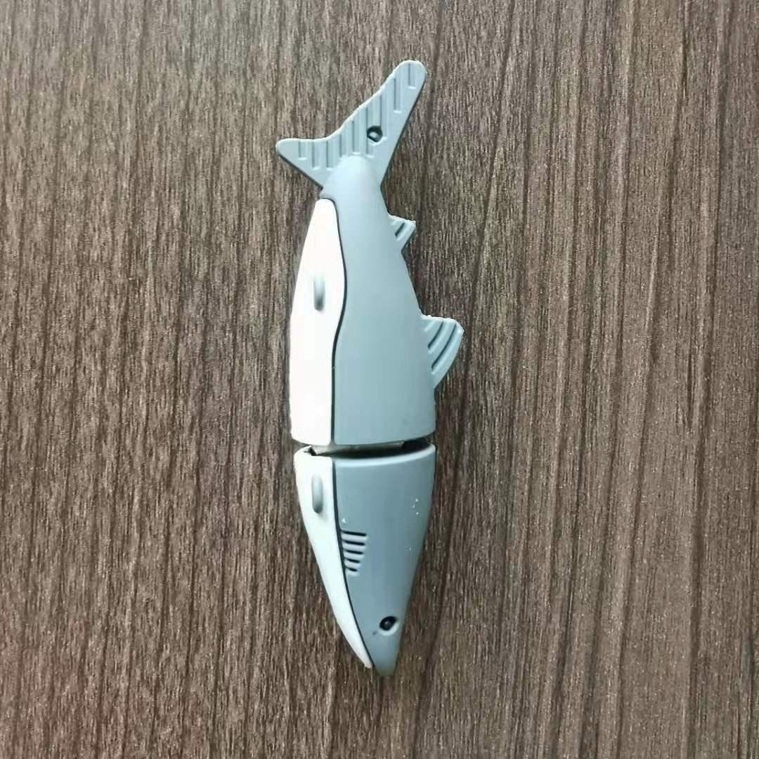 PVC shark USB