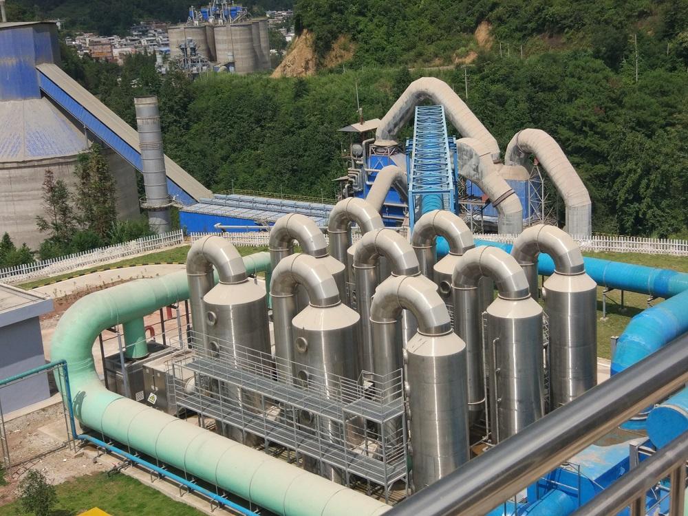 凤庆云水环保利用水泥窑协同处置城乡生活垃圾项目