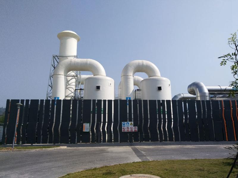 深圳市上洋污泥处理厂除臭改造工程项目