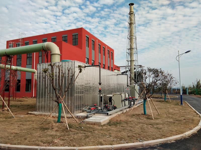 污水厂除臭--生物过滤-1
