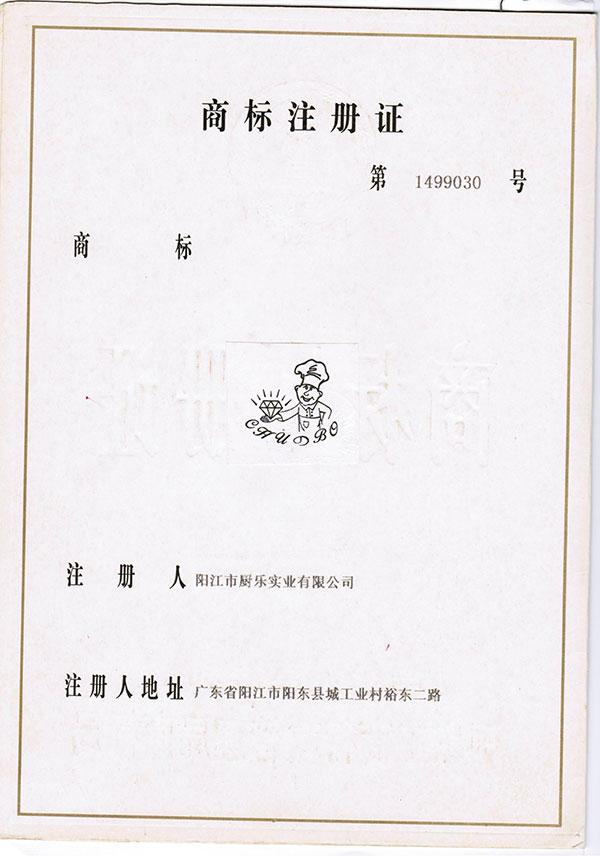 注册证书03
