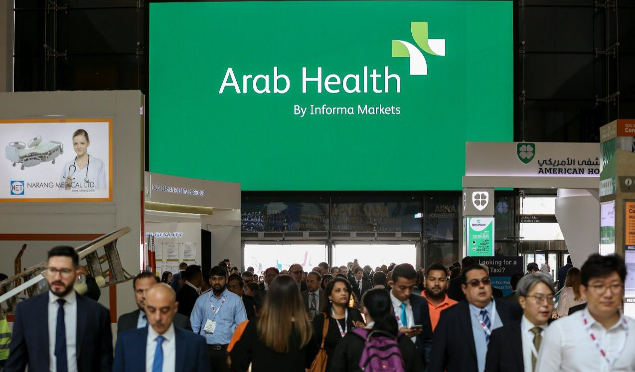 First exhibition in 2020 | Enmind focus on Arab Health