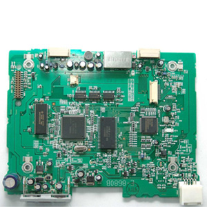 Blood analyzer motherboard