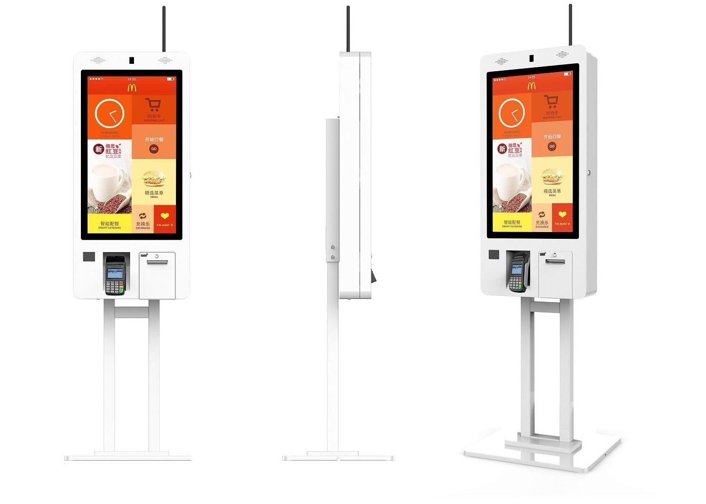 Self Ordering Kiosk For Fastfood Restaurant