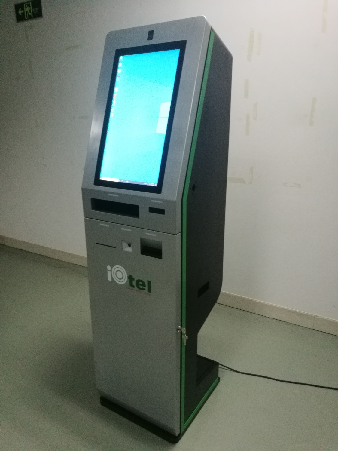 Hotel Check-in and Check-out kiosk
