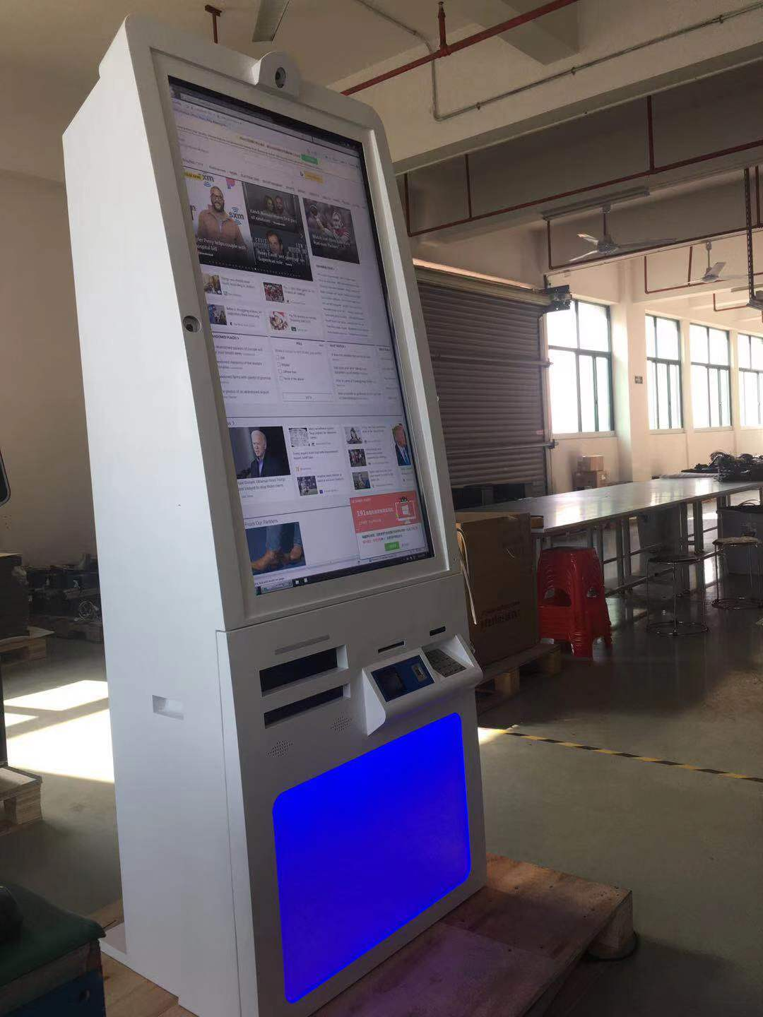 46 inch Touch Screen Information Kiosk