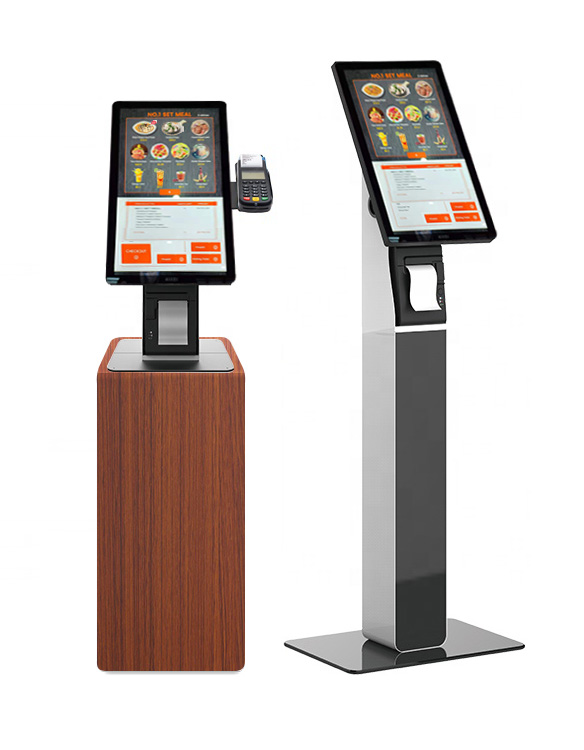 Check-out and Self order kiosk