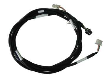6 Pin Mini Din to JST 3 Pin and Molex 12 Pos Connectors assembly