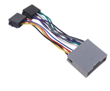 Electrical car radio stereo,ISO audio wire harness